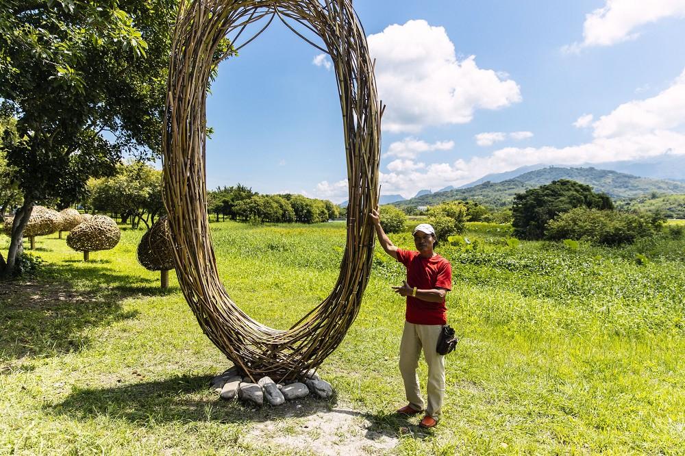 《我要有個家》是噶瑪蘭族與阿美族藝術家陳正瑞的創作