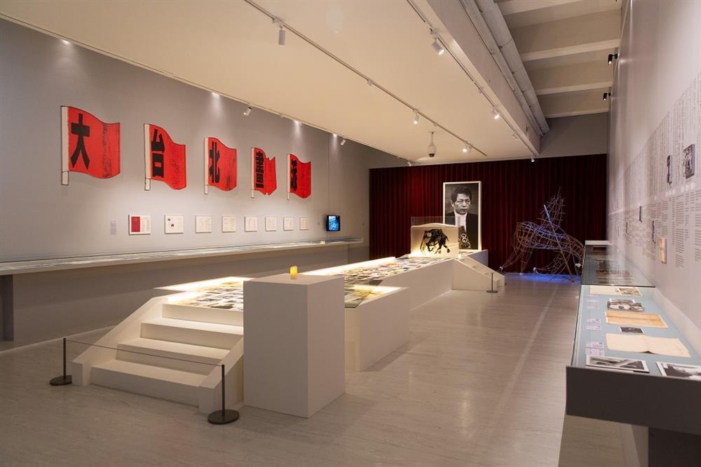 未完成,黃華成「大句點」展場照,2020,臺北市立美術館提供