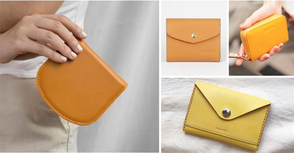 「橘黃色系」皮夾、錢包_1