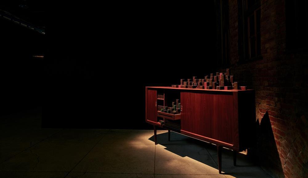 【圖4】Aesop系列香水陳列_虛實之境系列香水藝術展