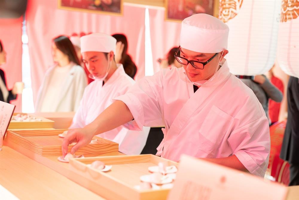【新聞圖片】日本開運魚快閃料亭的壽司由台北喜來登大飯店桃山餐廳製作