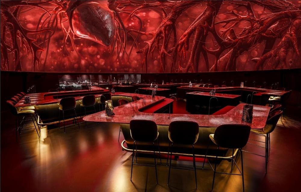 丹麥哥本哈根「Alchemist」沉浸式餐廳