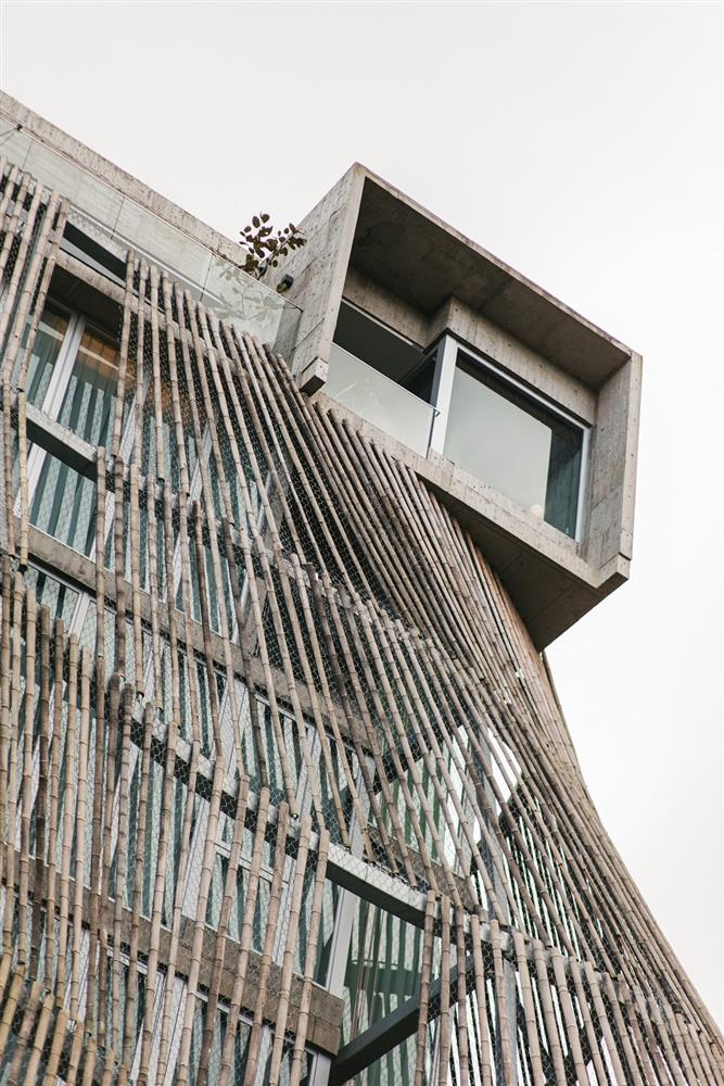 了了礁溪【圖3】了了礁溪建築是以「樹洞」為設計靈感,專為都市旅人打造、沉澱身心的棲息地。