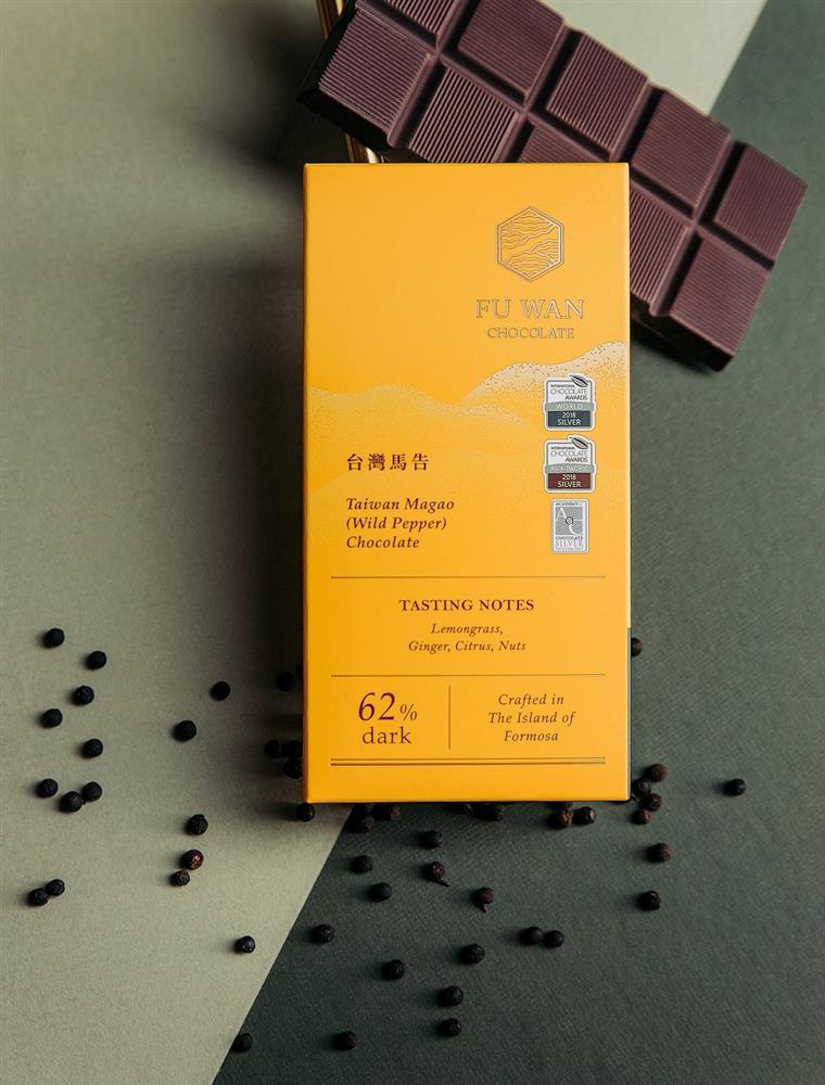 亞太區調味黑巧克力金牌-福灣_台灣馬告62