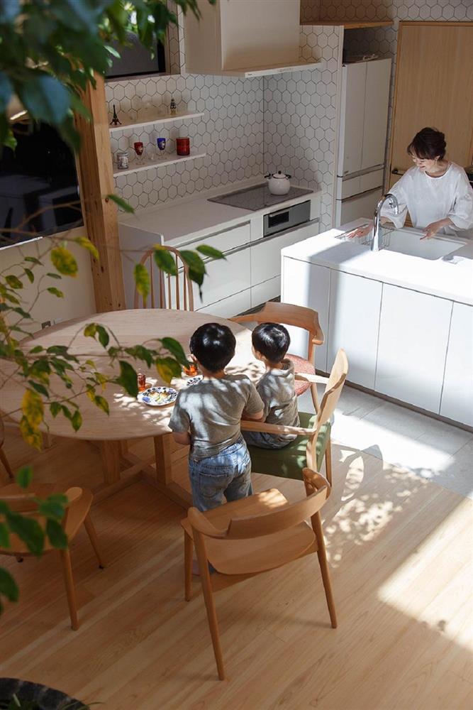 將庭院綠樹搬進家中!京都木質設計住宅 融合日式傳統與現代建築美學_09