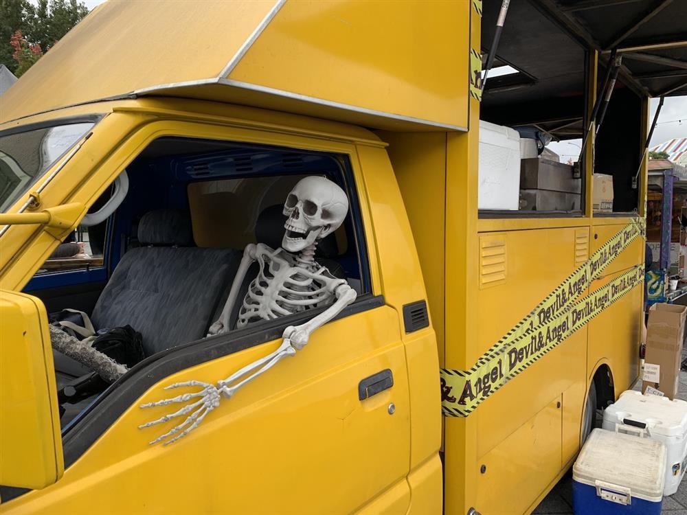亮點一:2-2020萬聖節市集-骷顱頭老司機