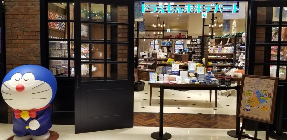 全球首間「哆啦A夢未來百貨公司」亮相東京台場!
