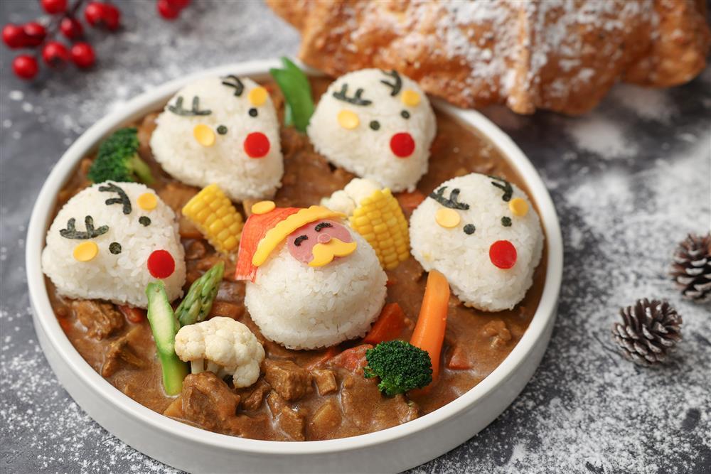 台北晶華_適合親子共享的「聖誕雪地牛肉咖哩」