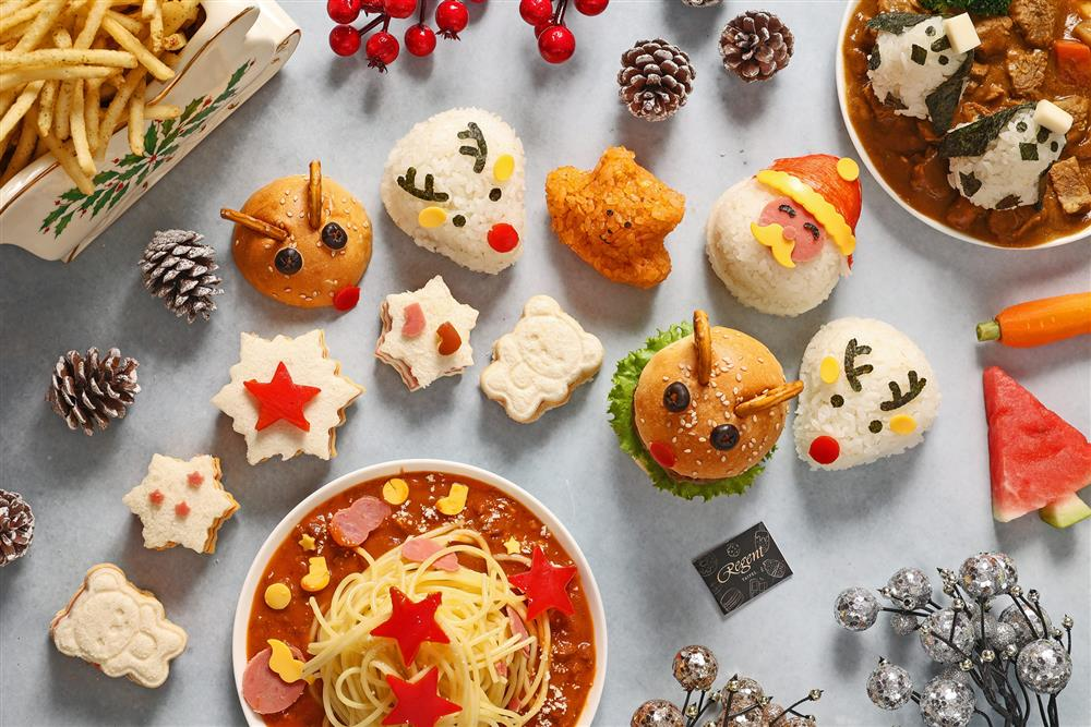 台北晶華_azie推出造型奇趣的「聖誕寶貝歡樂餐」