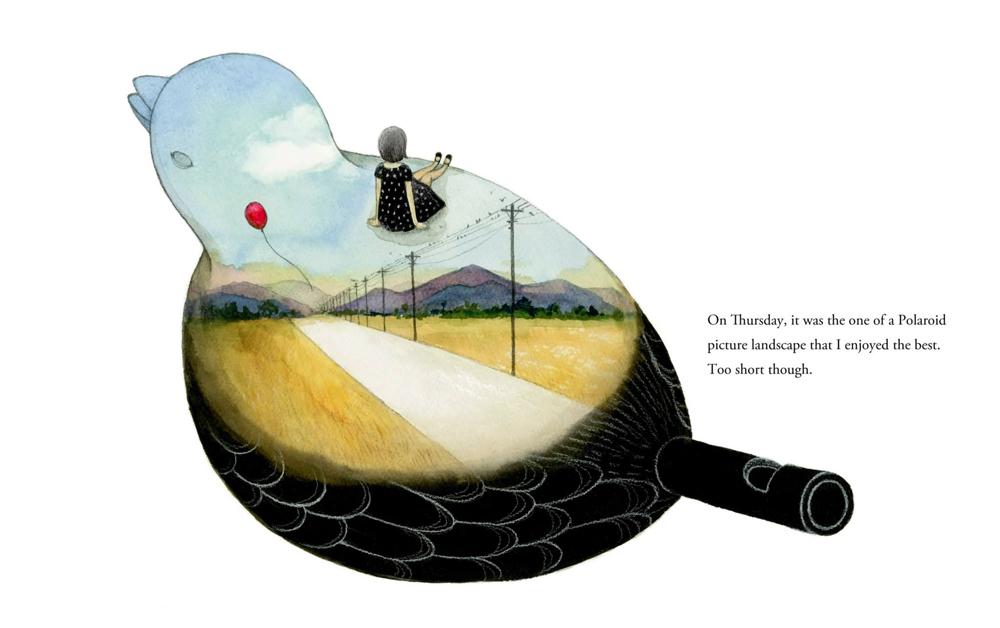 黃立佩創作繪本《安靜也可以美麗》