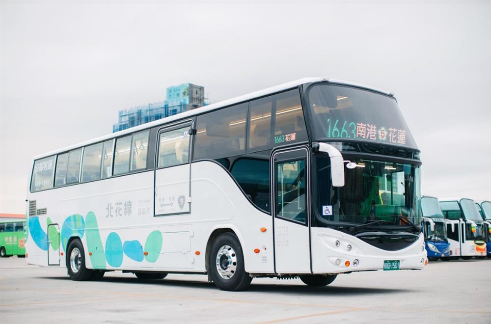 台灣最美客運「北花線—回遊號」!簡約風格、鵝卵石意象等車身設計亮點