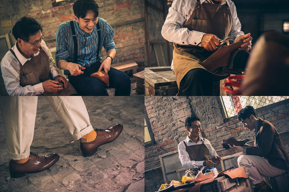 皮鞋時尚穿搭提案!林果良品大使李友廷與製鞋師傅的老派浪漫哲學