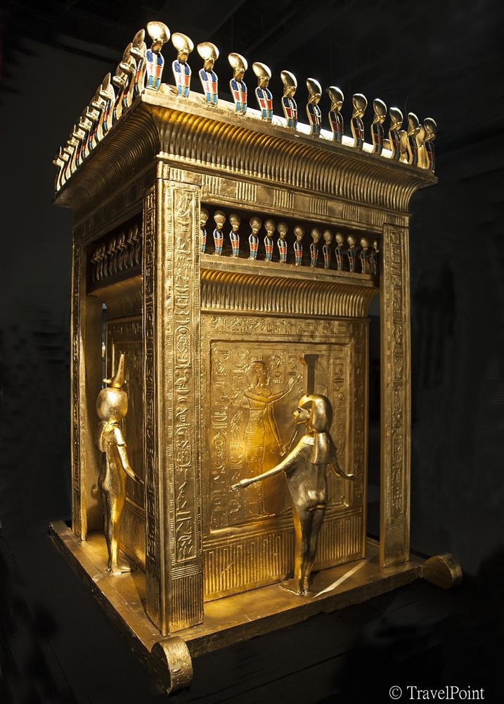 圖坦卡門的卡諾卜罈棺槨