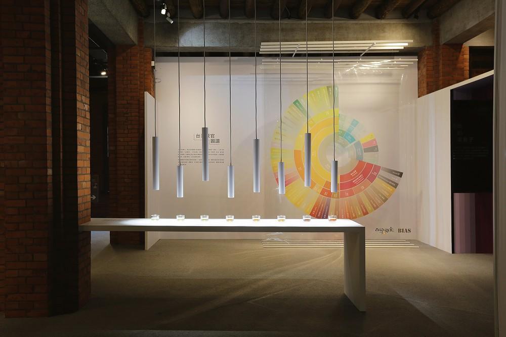 圖說:展覽現場首度發表充滿豐富滋味的台茶感官圖譜