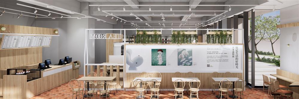 圖3.「誠品生活時光」善用小巧空間,將藝文特展與美味廚房完美結合