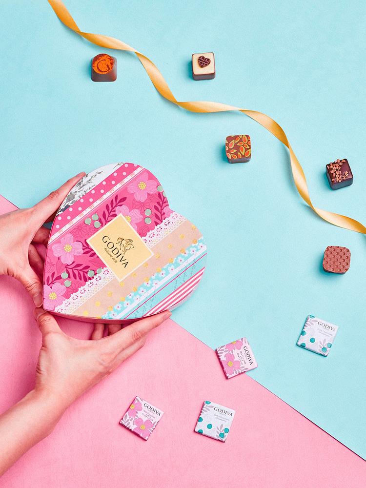 夏之戀心形巧克力禮盒5顆裝NT$1,050
