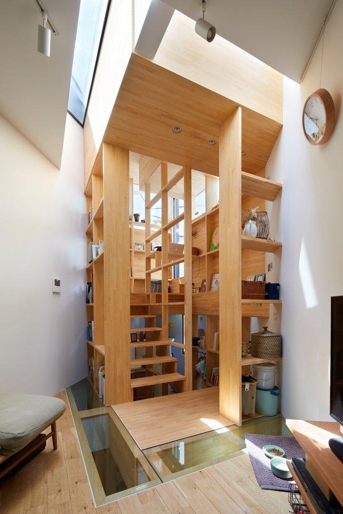 大阪「帝塚山の家」多功能木梯貫穿的小宅建築7