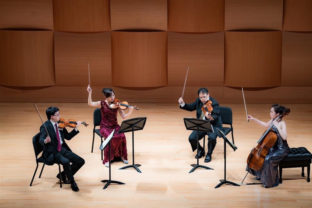 奇美音樂節「遇見莫札特」推出Infinite室內樂集音樂會,圖為Infinite首席四重奏。(1)