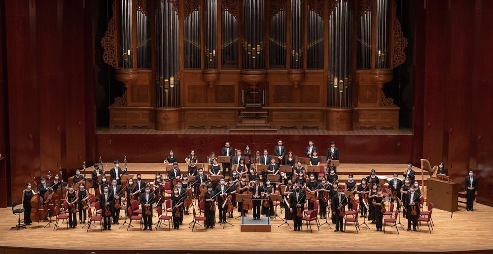 奇美音樂節「遇見莫札特」推出NTSO德奧樂章音樂會,圖為NTSO國立台灣交響樂團。