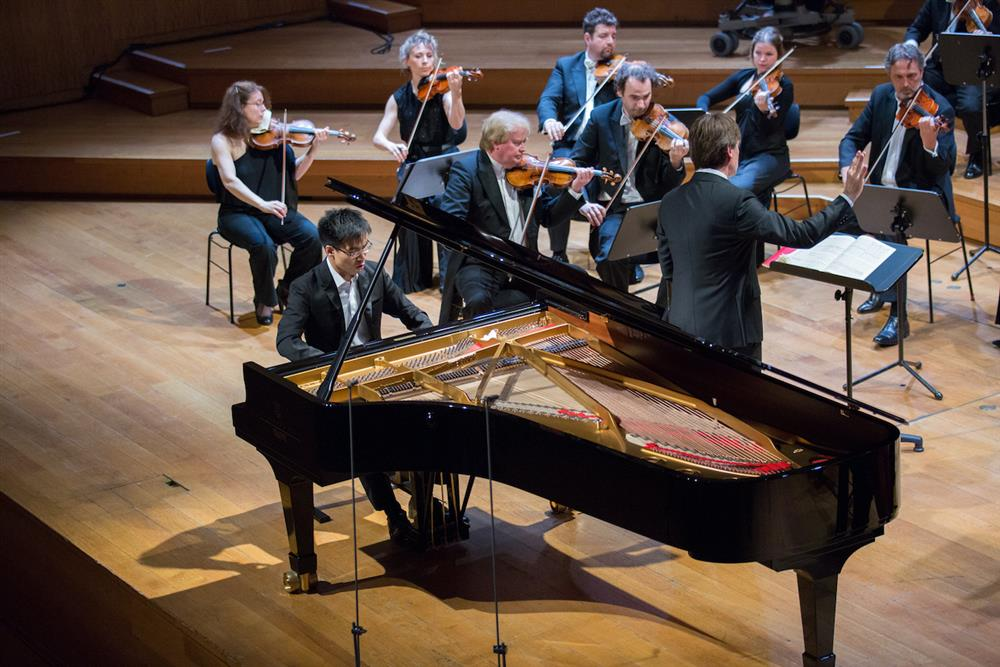 奇美音樂節「遇見莫札特」,由汪奕聞帶來鋼琴獨奏會。