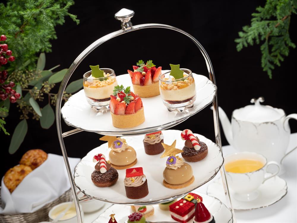 台北文華東方酒店「青隅」慶耶誕!推出季節限定「耶誕繽紛下午茶饗宴」