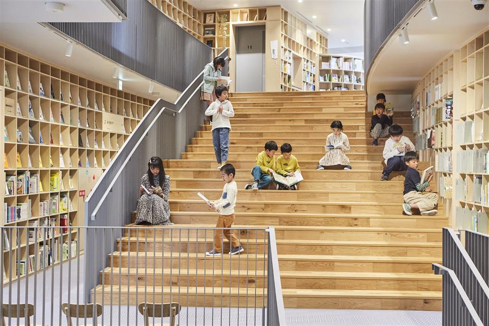 安藤忠雄為兒童設計的圖書館大阪「童書森林中之島9