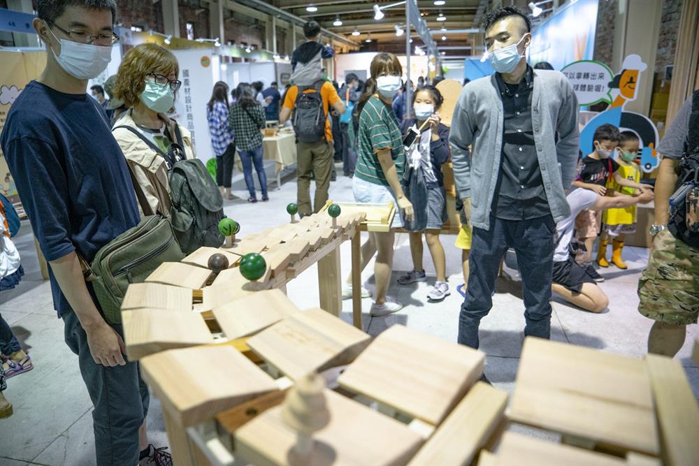 寓教於樂的木材設計