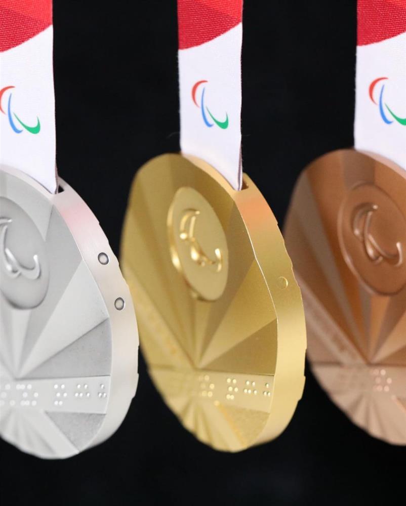 2020東京帕運獎牌設計2