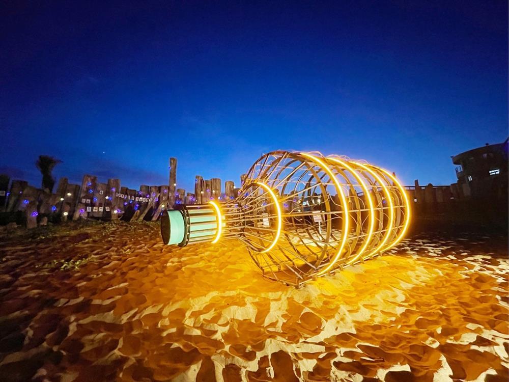 海潮聲伴隨的北海旅程!「2021 北海潮與火」結合藝術與在地物產 喚起漁港磺火記憶