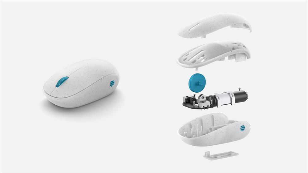 微軟海洋塑膠滑鼠