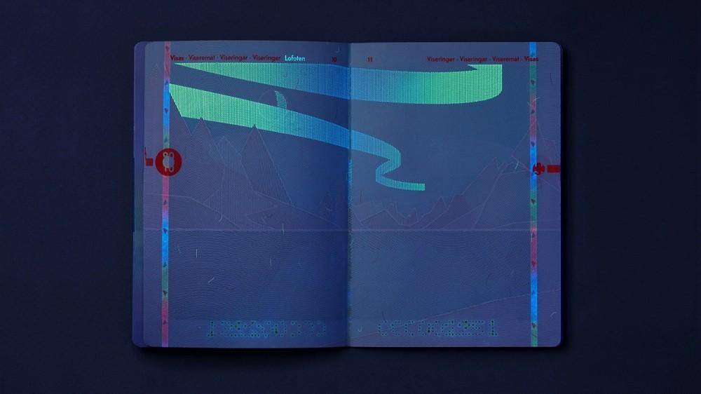 挪威護照全新設計 極簡內頁藏壯麗峽灣意象