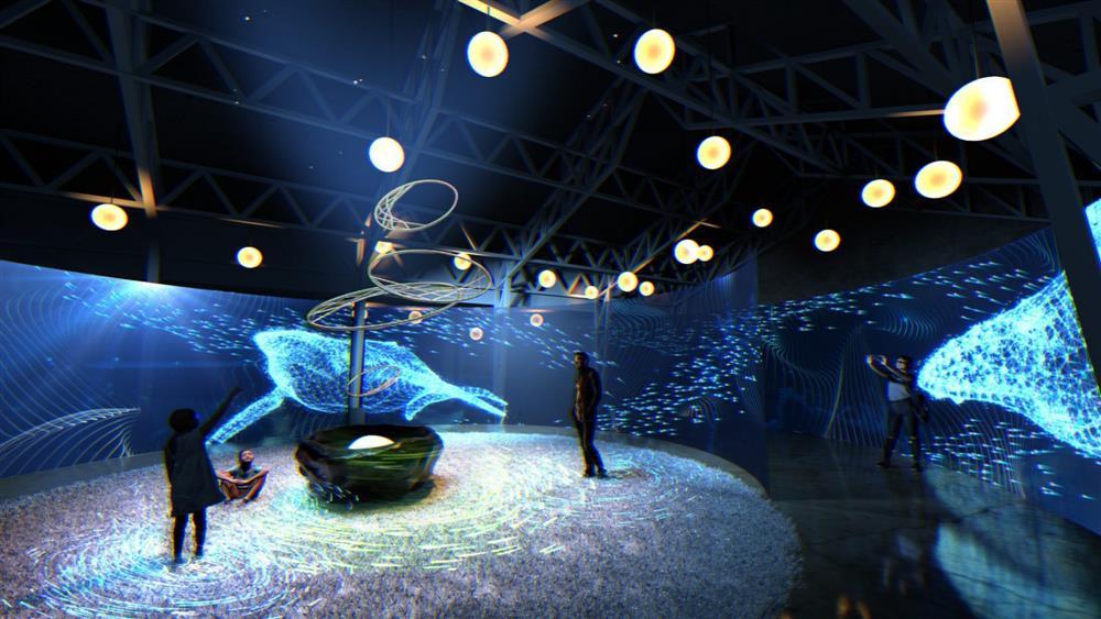 新竹光臨藝術節「科技未來」燈區06