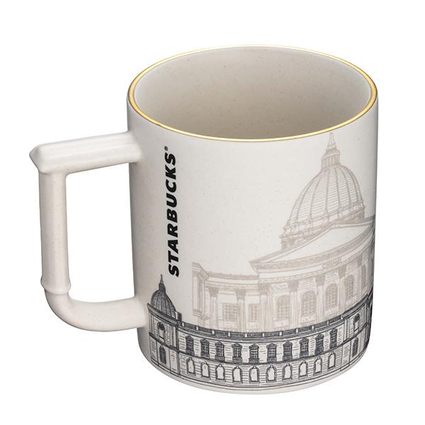 星巴克奇美博物館門市0923首賣商品,奇美博物館馬克杯,售價680元。(1)