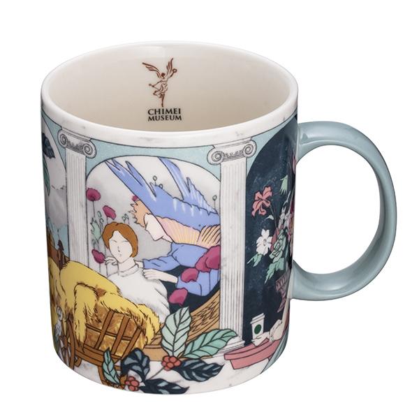 星巴克奇美博物館門市0923首賣商品,奇美臻藏馬克杯,售價550元。(1)