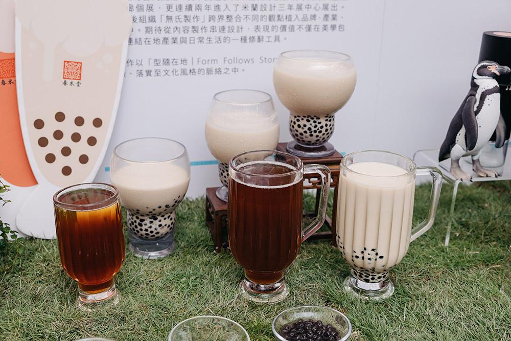 春水堂與春池玻璃所合作的春池珍珠杯,將於設計展展出