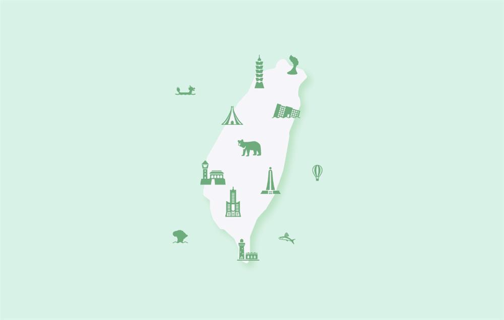 專屬台灣圖標字型「Taiwan Icon Font」!日本、英國雙設計師打造100個象徵台灣的美好圖示