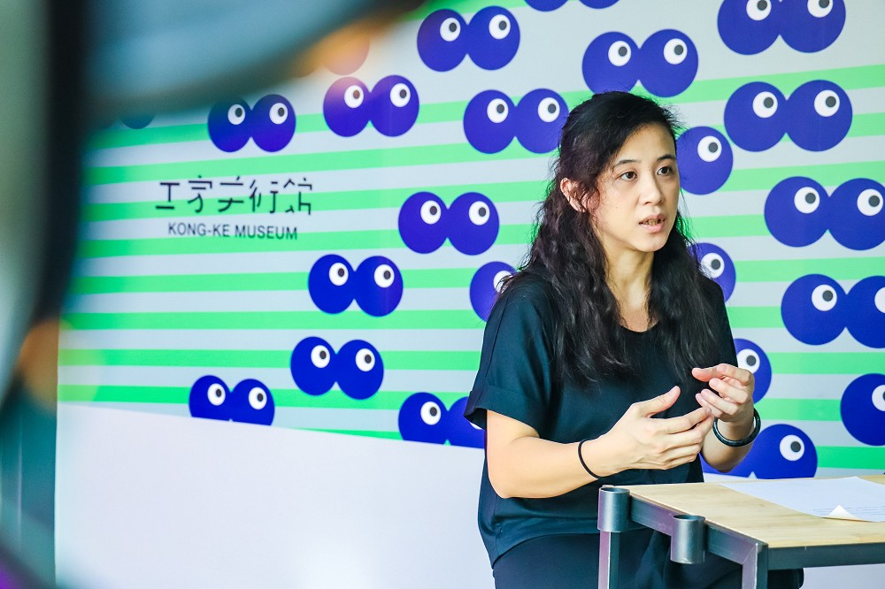 東海醫院工作室負責人徐景亭擔任工家美術館第二檔策展人