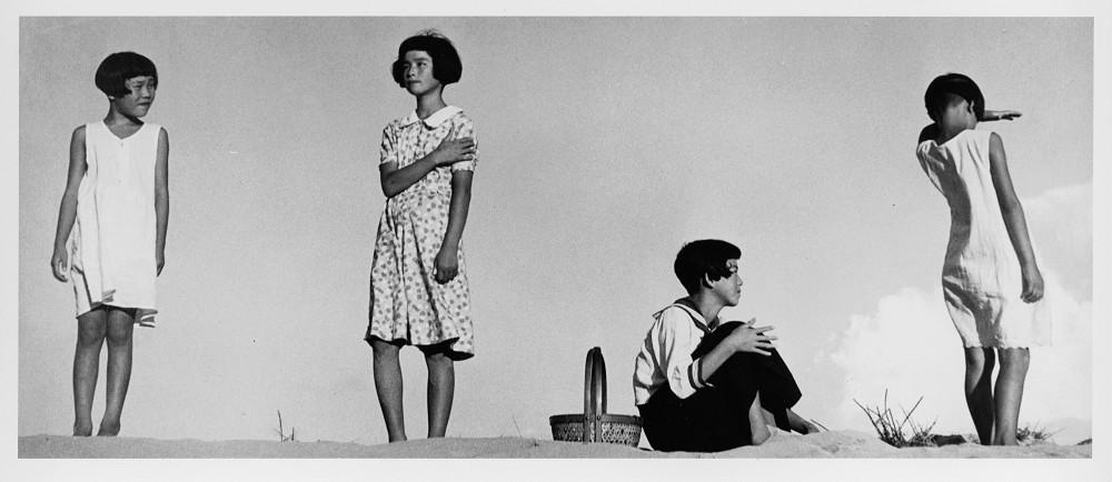 植田正治,少女四態,1939©ShojiUedaOffice