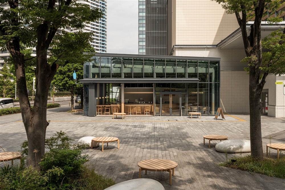 橫濱「藍瓶咖啡港未來店」