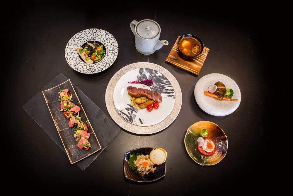 每一道鷹料理,結合美式豪邁風格與日式精緻思維,提供客製化私廚服務