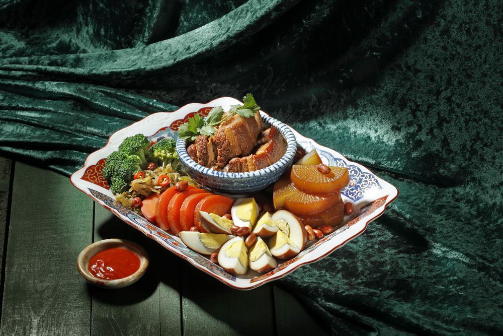 滷三拼_欣葉台菜X台酒打造新台味!台菜、和酒、手路菜5大必吃亮點