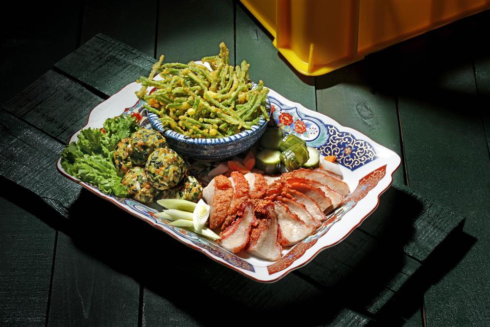 炸五拼盤_欣葉台菜X台酒打造新台味!台菜、和酒、手路菜5大必吃亮點