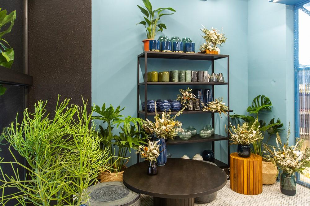 瑪黑家居敦南開幕活動,購買花器商品可享花藝加價購優惠