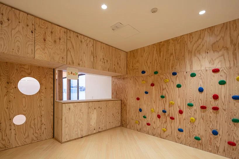 白雪裡的層疊餅乾屋!以向日葵為靈感的北海道木造幼兒園Yawara6