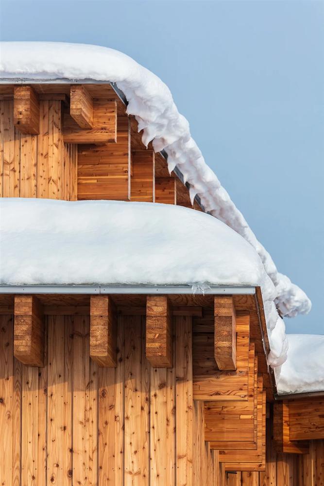 白雪裡的層疊餅乾屋!以向日葵為靈感的北海道木造幼兒園Yawara7