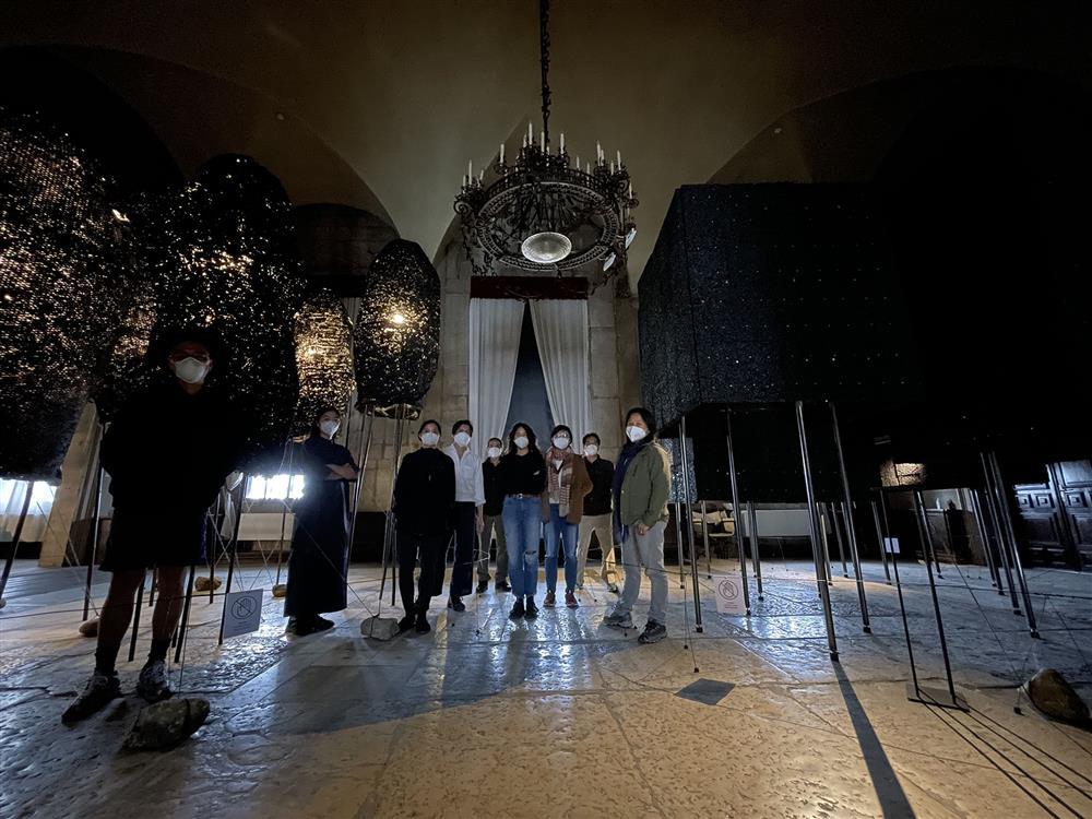 第17屆威尼斯建築雙年展臺灣館工作團隊合影