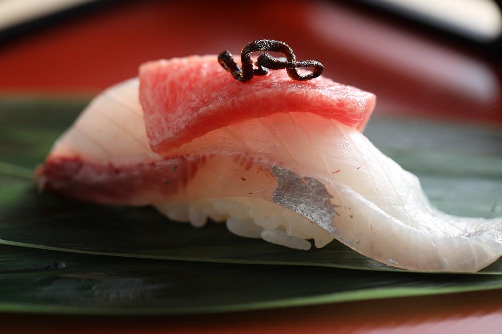 台北大直無菜單日本料理「米匠」!端上宛如藝術品的美味創意壽司