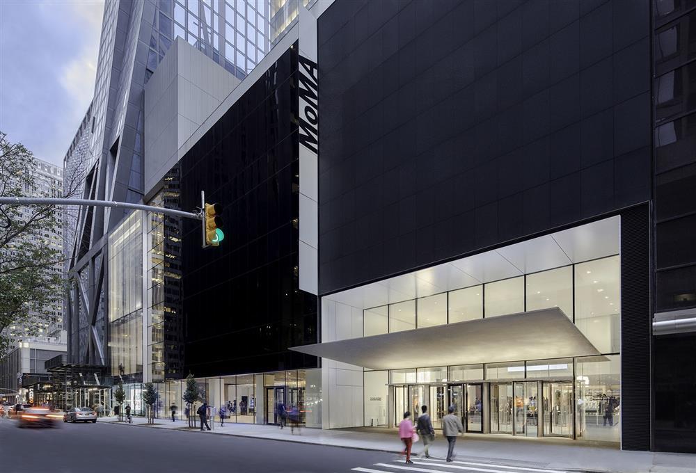 紐約MoMA現代藝術博物館擴建升級