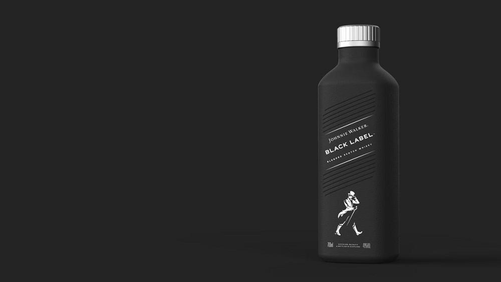可口可樂、JOHNNIE WALKER推質感簡約紙瓶包裝設計