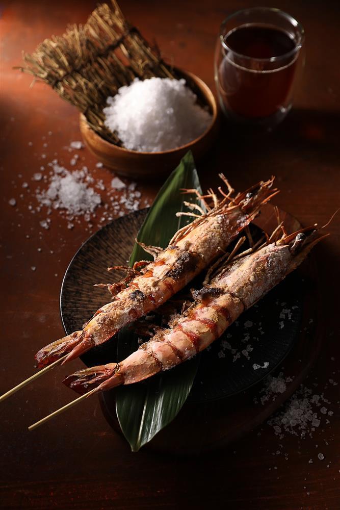 經典菜色-鹽烤虎大蝦